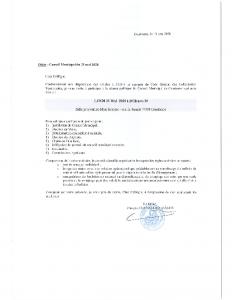 convocation CM 25 MAI 2020
